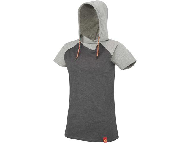 Millet LD Mada Roc Hoodie SS Women h tarmac/h grey